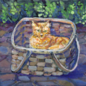 Basket Case, painting by Amy Rice
