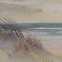 Dune Grass, painting by Amy Rice