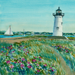 Edgartown Light House by Amy Rice