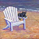 Seat Not Taken, painting by Amy Rice
