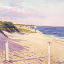 South Cape Beach, painting by Amy Rice