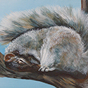 Afternoon Nap, acrylic by Chris O'Dell Ferguson