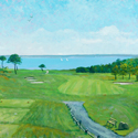 New Seabury 1st Hole by John Woodruff