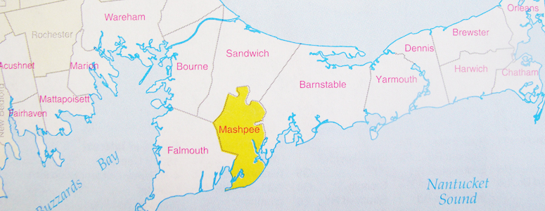Mashpee Map