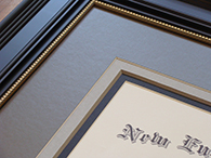Custom Framed Diploma